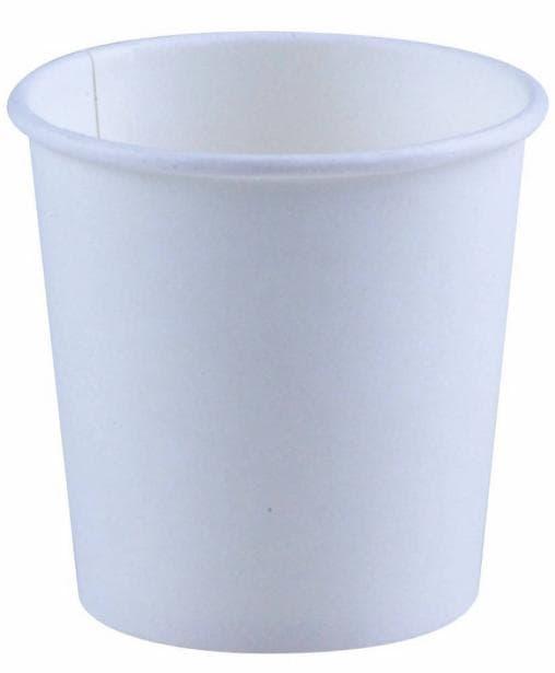 Бумажный стакан Huhtamaki SP4 (100 шт) белый d=62 100мл