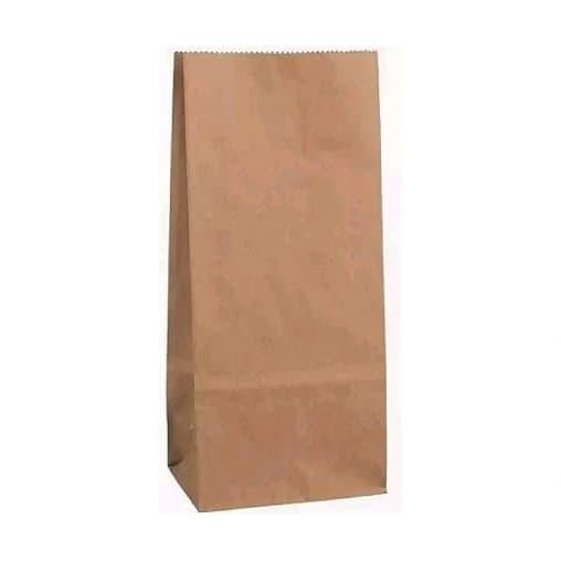 Пакет бумажный навынос 127×80×248мм A-bag