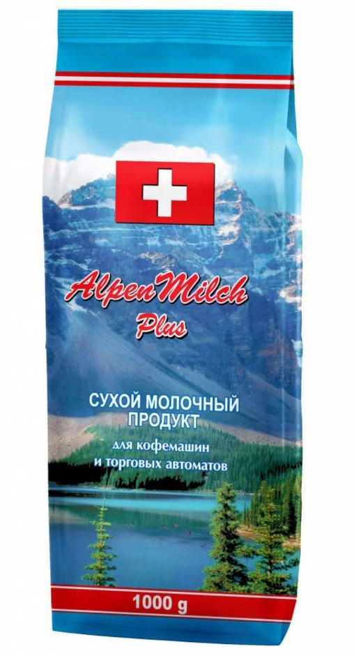 Сухой молочный продукт AlpenMilch Plus 1000 гр