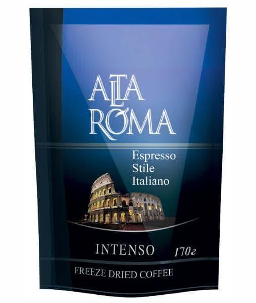 Кофе сублимированный Alta Roma Intenso 170г