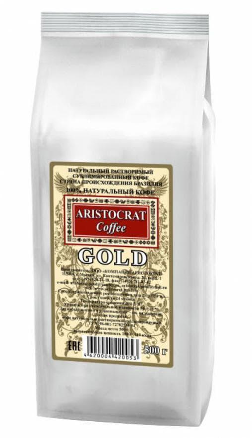 Кофе растворимый IMPERIAL Coffee GOLD 500г