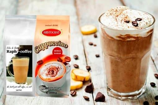 Aristocrat Смесь для Raph-coffee со вкусом банана 1000 г