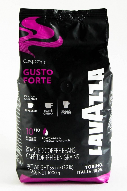 Кофе в зернах Lavazza Gusto Forte 1000гр