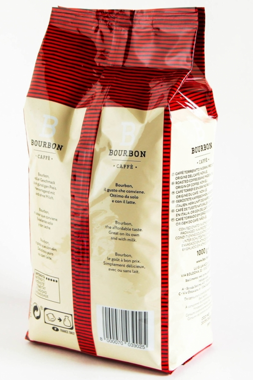 Кофе в зернах Lavazza Bourbon Intenso 1000 гр (1кг)