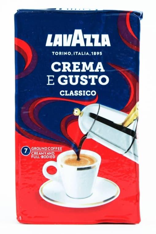 Кофе молотый Lavazza Crema e Gusto Classico 250 гр