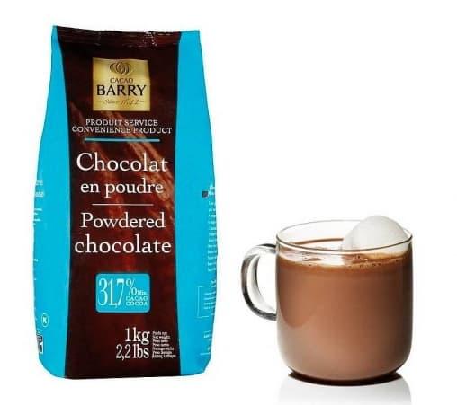 Cacao Barry Какао-порошок 31,7% с сахаром 1 кг