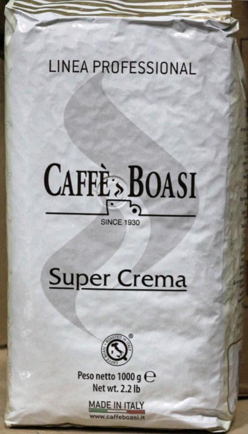 Кофе в зернах Boasi Linea Professional Super Crema 1000 гр (1кг)