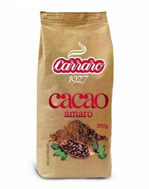 Какао-напиток Carraro Bitter Cacao Amaro 500 г