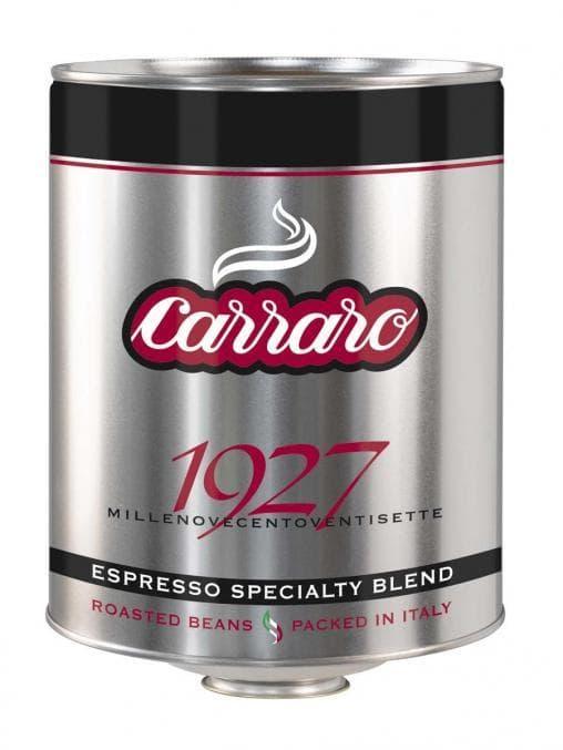 Кофе зерновой Carraro Tin 1927 3000 г (3 кг)