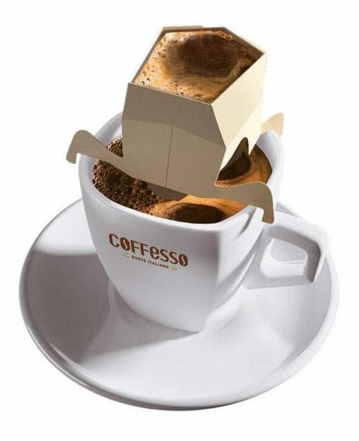 Кофе Coffesso Filter Cup-5 Crema Delicato 45г
