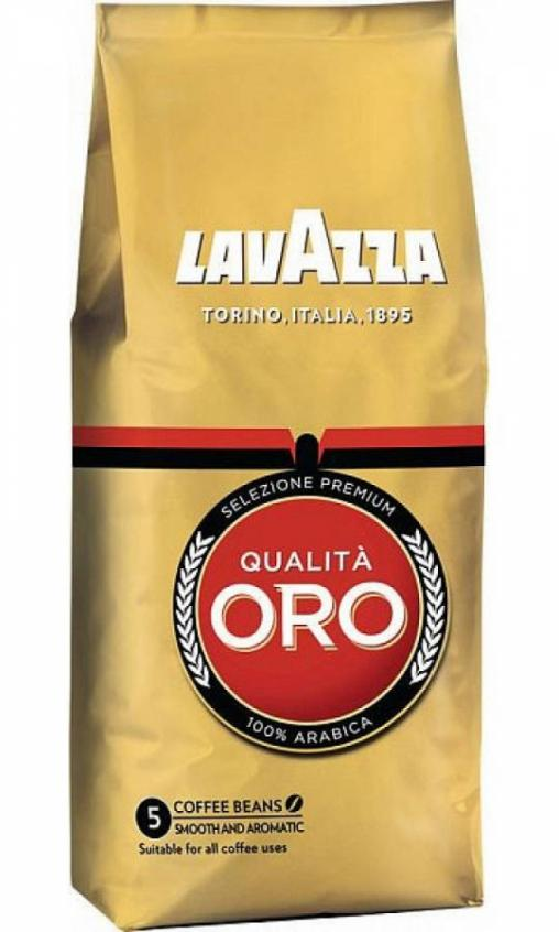 Кофе в зернах Lavazza Qualita Oro 250г