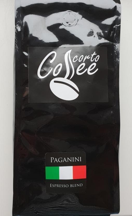 Кофе в зернах Corto Cofee Paganini 1000 г – цена, описание, фото