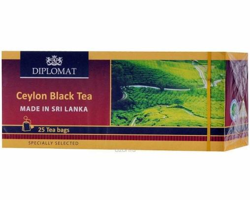 Чай Diplomat Ceylon Черный 25 пак.