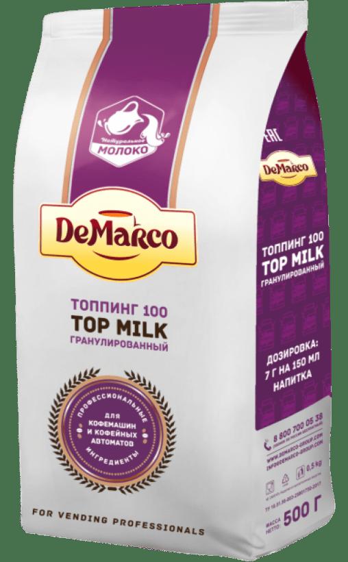 Топпинг в гранулах DeMarco 100 Top milk 500 гр