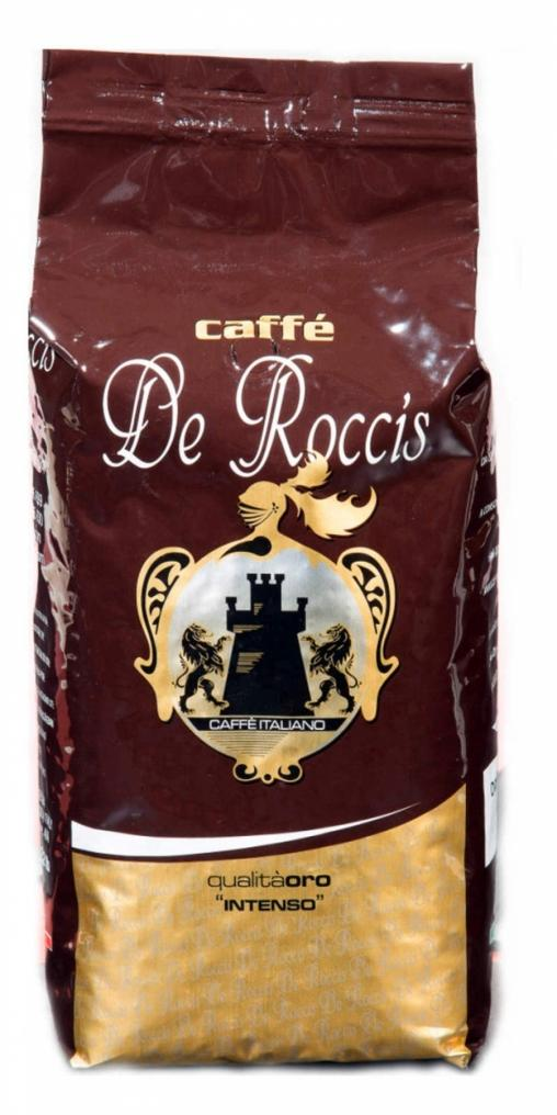 Кофе в зернах De Roccis ORO 1000 г (1 кг)
