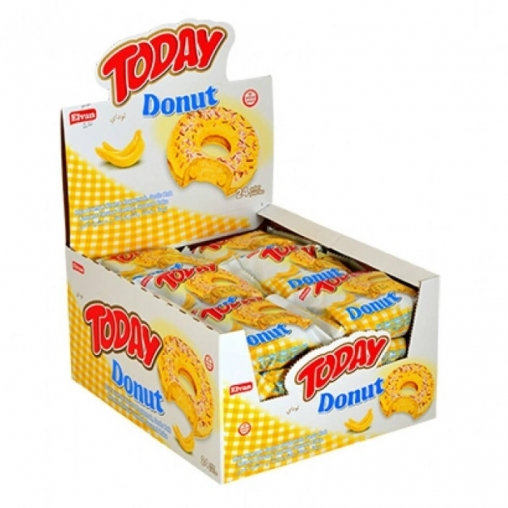 Пирожное Донат TODAY Банан 50г