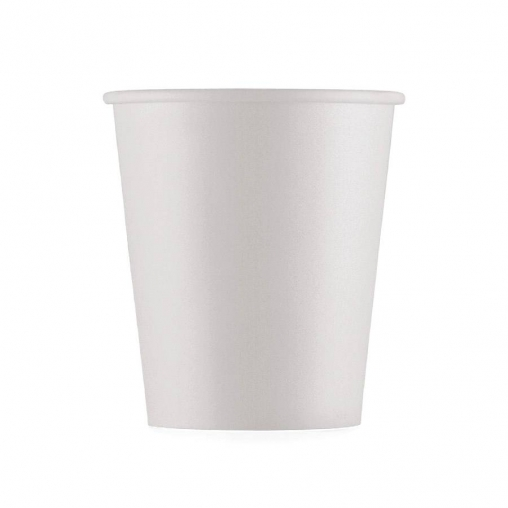 Бумажный стакан ECO CUPS Белый d=73 175мл