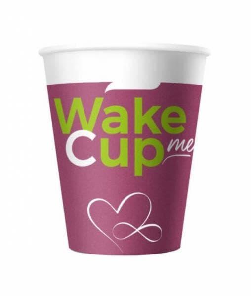 Бумажный стакан Wake Me Cup d=70 150мл