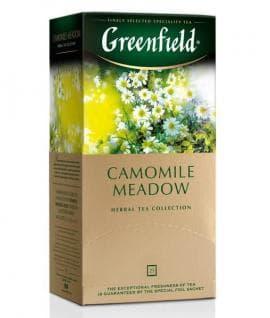 Чай травяной Greenfield Camomile Meadow (25 пак. х 1,5г)