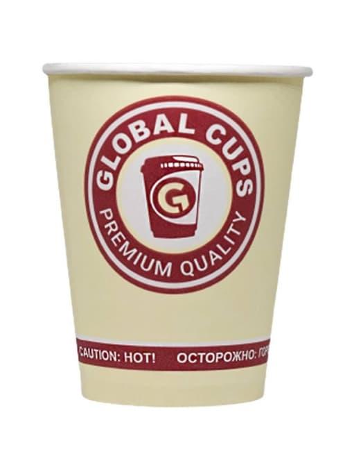 Бумажный стакан GlobalCups Premium quality d=90 300мл