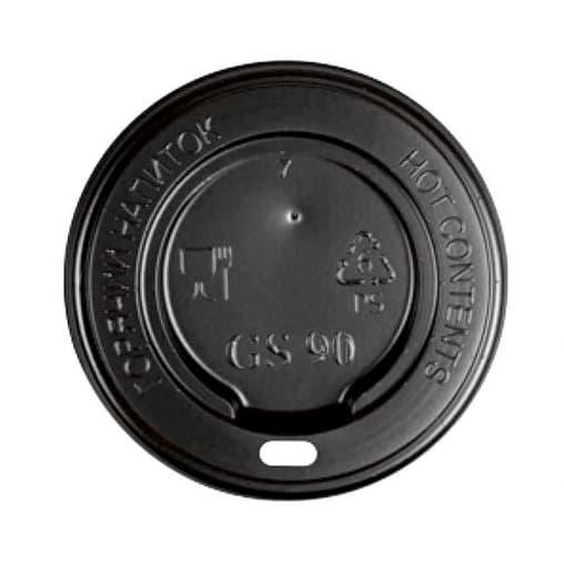 Крышка для стакана Черная d=90
