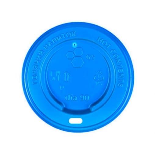Крышка для стакана Синяя d=80