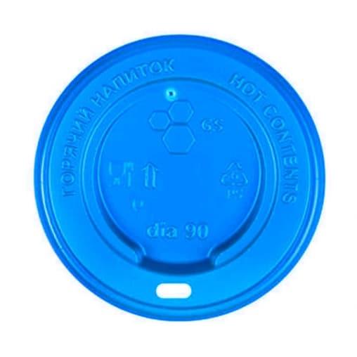 Крышка для стакана Синяя d=90