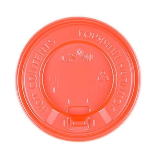 Крышка с клапаном Красная d=90
