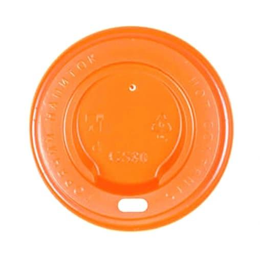 Крышка для стакана Оранжевая d=80