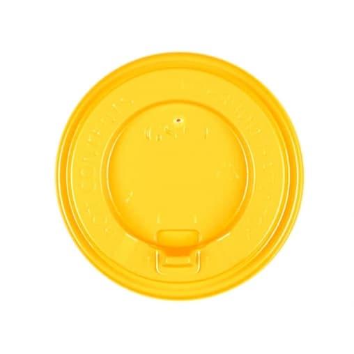 Крышка с клапаном Желтая d=80