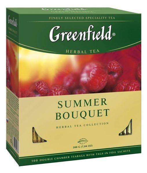Чай каркаде Greenfield Summer Bouquet 100 пак. х 2г