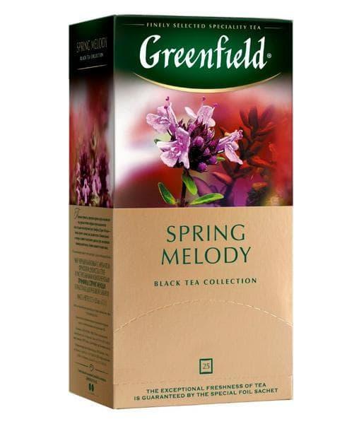 Чай черный Greenfield Spring Melody (25 пак. х 1,5г)
