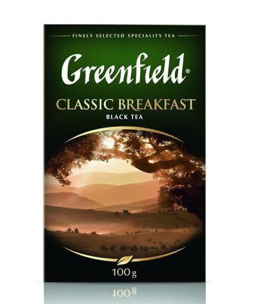 Чай черный Greenfield Classic Breakfast листовой 200г