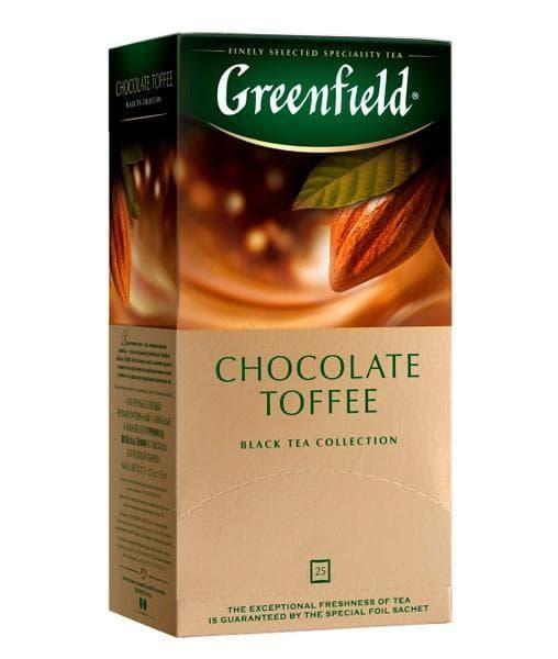 Чай черный Greenfield Chocolate Toffee (25 пак. х 1,5г)