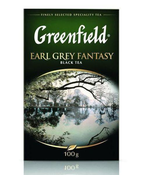 Чай черный Greenfield Earl Grey Fantasy листовой 100г