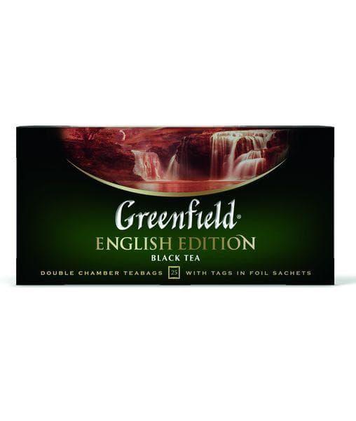 Чай черный Greenfield English Edition (25 пак. х 2г)