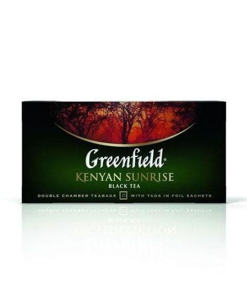 Чай черный Greenfield Kenyan Sunrise (25 пак. х 2г)