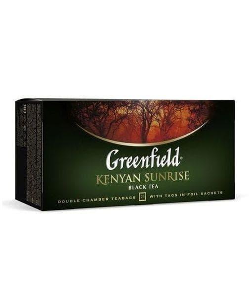 Чай черный Greenfield Kenyan Sunrise (25 пак. х 2г)