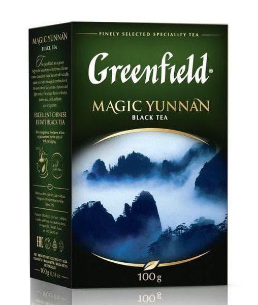Чай черный Greenfield Magic Yunnan листовой 100г
