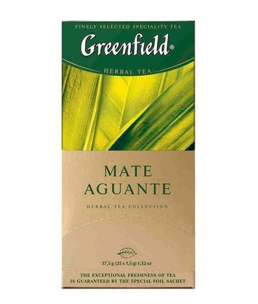 Чай матэ травяной Greenfield Mate Aguante (25пак. х 1,5г)