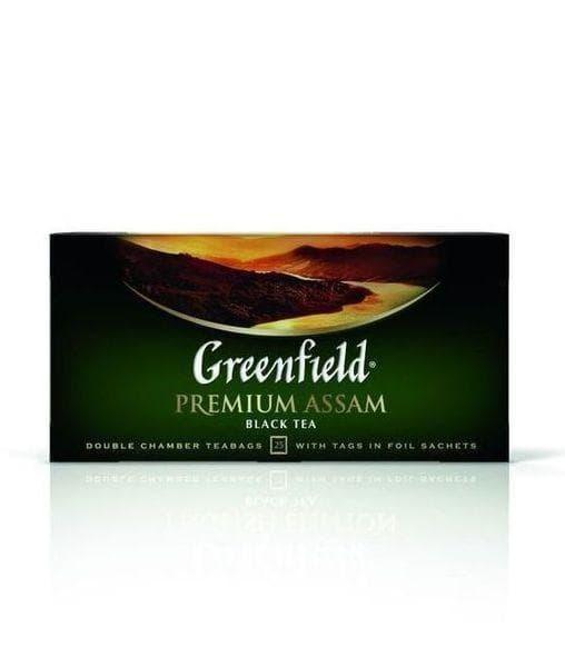 Чай черный Greenfield Premium Assam (25 пак. х 2г)