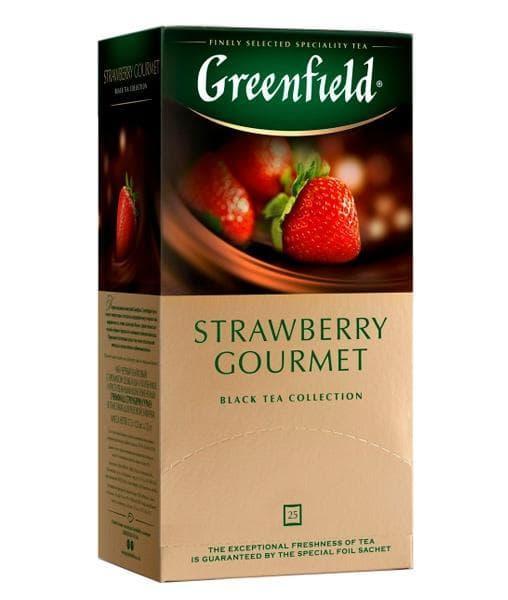 Чай черный Greenfield Strawberry Gourmet (25 пак. х 1,5г)