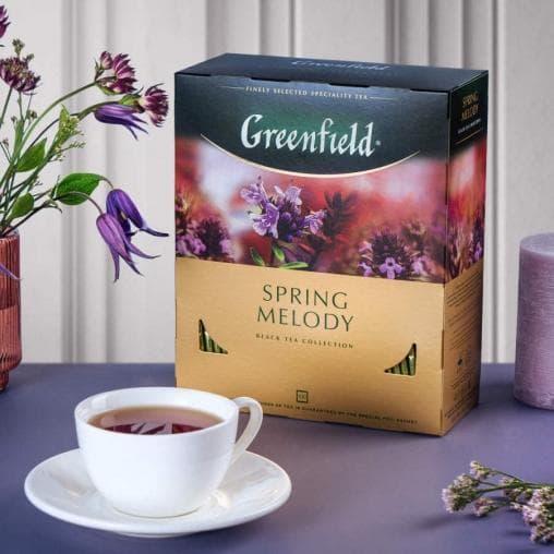 Чай чёрный Greenfield Spring Melody 100 пак. х 1,5г