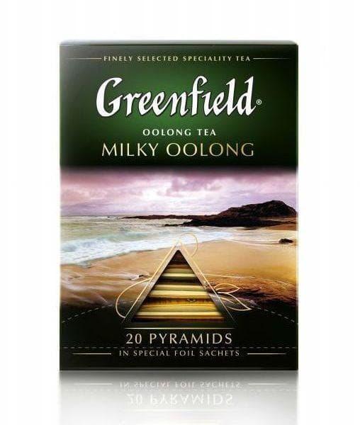 Чай улун Greenfield Milky Oolong в пирамидках (20 х 1,8г)