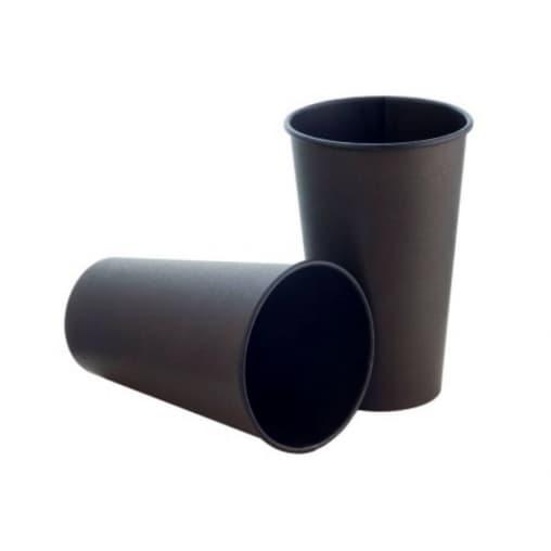Бумажный стакан для кофе и горячих напитков Total Black d=90 400 мл 50 шт./тубе – цена, описание, фото