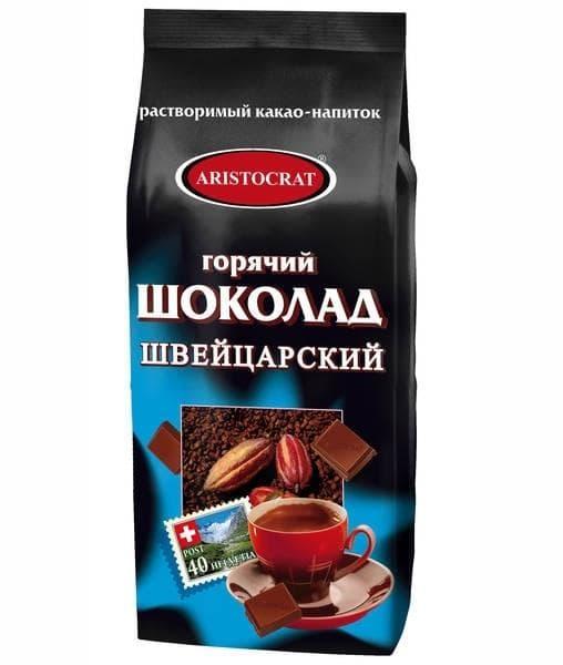 Горячий шоколад Aristocrat ШВЕЙЦАРСКИЙ 1000 гр