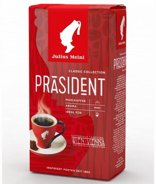 Кофе молотый Julius Meinl President Classic Collection 500г (0,5кг)