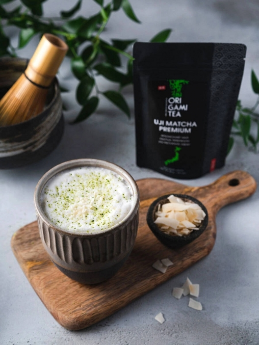 Японский чай ORIGAMI TEA Удзи матча premium grade 50 г