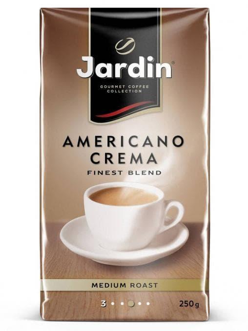 Кофе молотый Жардин Jardin Americano Crema 250 гр (0.25кг)