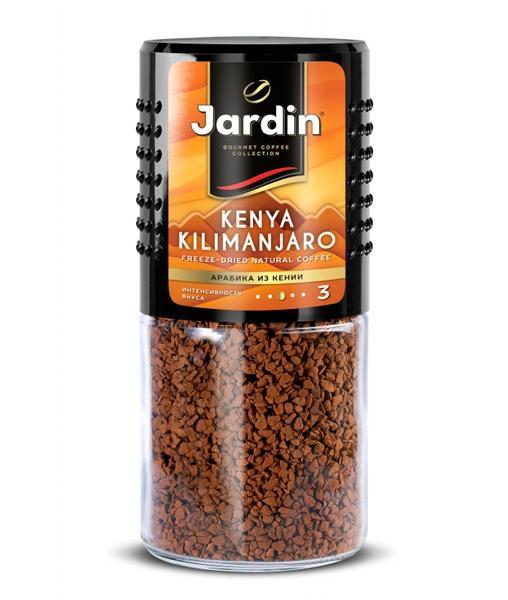 Кофе растворимый Jardin Kenya Kilimanjaro стекл. банка 95г